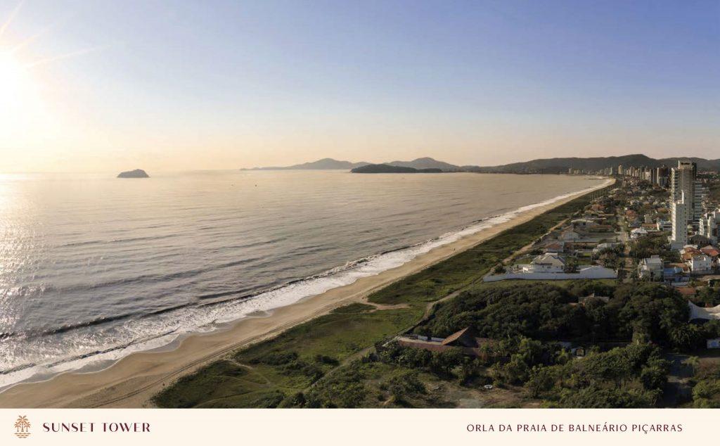 Orla da Praia de Balneário Piçarras